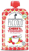 Piccolo Stage 1 Cherry and Yoghurt Puree with Wholemeal Oats 100 g