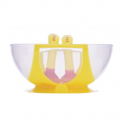 Per Baby Kids Child Feeding Training Bowl Sucker Bowl With a Temperature Sensing Spoon and Fork , Baby Stay Put Suction Bowls Set