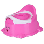 PP Baby Potty Chair Potty Training Boy Toilet Seats Bathroom Accessories Pink