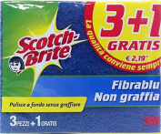 20 x SCOTCH BRITE Sponge 3 Pcs Anti-Scratch 1