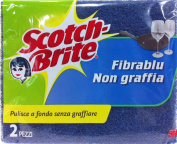 SCOTCH BRITE Sponge Anti-Scratch Pack of 2)