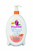 Poupina 501406 Baby Washing Gel Hair and Body Nourishing 750 ml Pack of 2