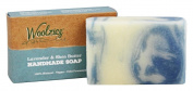 Woolzies - 100% Natural Handmade Soap Bar Lavender and Shea Butter - 120ml