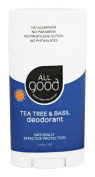 Elemental Herbs - All Good Deodorant Tea Tree & Basil - 70ml