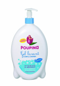 Poupina 501284 Babies' Body and Hair Lotion 750 ml Pack of 2