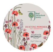 H.Bronnley & Co Royal Horticultural Society Poppy Meadow Dusting Powder 75 g