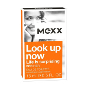 MEXX Look Up Now For Her Eau De Toilette Natural Spray 15 ml, Pack of 1