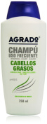 Agrado Shampoo 750 Ml- Oily Hair 750 ml