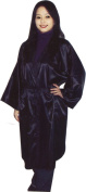 Hair Dressing Gown - Black