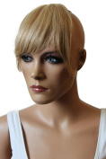 PRETTYSHOP 100% Human hair Clip in Bang Fringe Extensions Hairpiece Div. Colours H313a