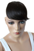 PRETTYSHOP 100% Human hair Clip in Bang Fringe Extensions Hairpiece Div. Colours H313x