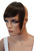 PRETTYSHOP 100% Human hair Clip in Bang Fringe Extensions Hairpiece Div. Colours H313f