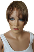 PRETTYSHOP 100% Human hair Clip in Bang Fringe Extensions Hairpiece Div. Colours H313p