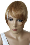 PRETTYSHOP 100% Human hair Clip in Bang Fringe Extensions Hairpiece Div. Colours H313o