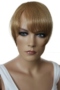 PRETTYSHOP 100% Human hair Clip in Bang Fringe Extensions Hairpiece Div. Colours H313m