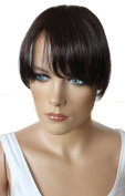 PRETTYSHOP 100% Human hair Clip in Bang Fringe Extensions Hairpiece Div. Colours H313l