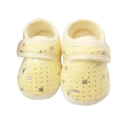 Yistu Baby Infant First Walking Shoes, Cute Starry Sky Printed Toddler Anti-Slip Soft Toddler Shoes