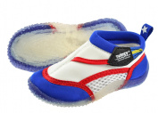 Swimpy Boy's UPF 50 Plus Beach UV Shoes - White, Size 28