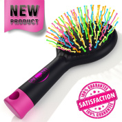 Detangling Hair Brush - Detangle Hair Effortlessly - For Wet Or Dry Hair - Kids & Adults.