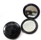 Vintage Black Butterfly Style 2 Sides Compact Cosmetic Mirror