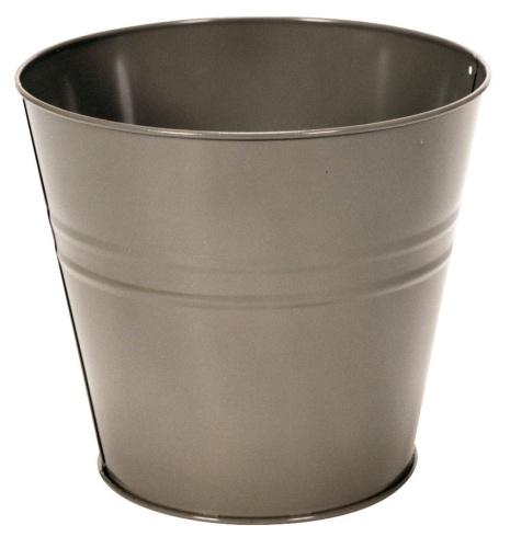 Small Galvanised Metal Waste Paper Basket Bin Ideal For Bedroom Bathroom Rub Ebay