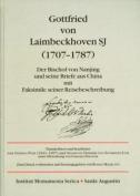 Gottfried von Laimbeckhoven S.J. (1707-1787)