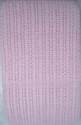 100% Cotton Cellular Baby Blanket for cot/cot bed - Pink