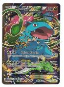 Pokemon JUMBO OVERSIZED Card Venusaur EX Rare Holo Promo XY123