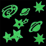 Set of 24 pieces phosphorescent