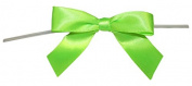 Reliant Ribbon 100 Piece Bow 2.5 Span X 1.75 Tails Twist Tie Ribbon, Citrus, 1.6cm