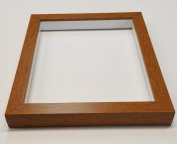 Shadowbox Gallery Wood Frames - Honey Pecan, 20 x 24