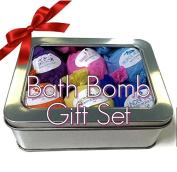 Bath Bomb Set 6ct Gift Set Bath Fizzies