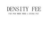 A Extra Density Fee