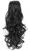 OneDor® 41cm Curly Ponytail Hair Extensions with Comb and Drawstring Hair-Pieces