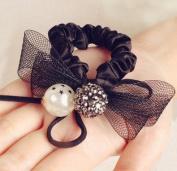 L & M Sweet Fashion Elastic Hair Ties for hair accessories