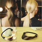 The explosion of energy-saving ring elastic hair rope Tousheng wig hair ornaments of South Korea
