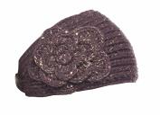Crystal Chrysanthemum Knit Headband for Girls