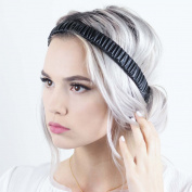 Scrunch Headband - Ebony