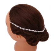 Elegant Designed Crystal Bridal Headdress Headband Hairpiece Wedding Hair Accessories