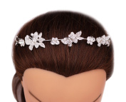 Elegant Designed Crystal Butterfly Bridal Headdress Headband Hairpiece Wedding Hair Accessories