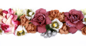 Bohemian Floral Crown Headband Formal Head Wear Festival Garland