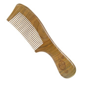 Casualfashion Anti-static Sandalwood Comb with Handle for Hair Care Wooden Massage Comb