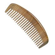 Casualfashion Natural Green Sandalwood Wide Tooth Comb, No Static Wooden Comb for Hair