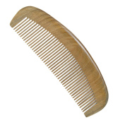 Casualfashion Handmade Natural Green Sandalwood No Static Comb Wooden Hair Combs for Women Gift
