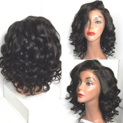 Wigshow Wet And Wavy Lace Front Wigs For Black Women Short Hairstyles Synthetic Front Lace Wigs With Baby Hair