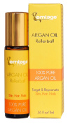 Argan Oil Rollerball - Target & Rejuvenate Hair, Face, Skin, Nails, Beard .980ml 100% Organic Virgin Moroccan Argan Oil in a Roll-on. Anti-Ageing Beauty Secret