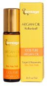 Argan Oil Rollerball - Target & Rejuvenate Hair, Face, Skin, Nails, Beard .980ml 100% Organic Virgin Moroccan Argan Oil in a Roll-on. Anti-Ageing Beauty Secret
