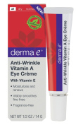 derma e Anti-Wrinkle Vitam A Eye Creme 15ml