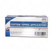 Dukal COTTON TIP APPLICATOR 15cm STERIL APR 100X2