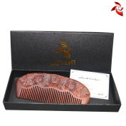 Xuanli® Redwood Comb Hair Care Anti Static Wooden Hair Massage Natural Brush Beard Comb